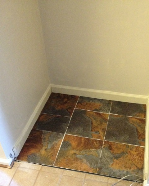 Coat Closet - Tile Dry Run