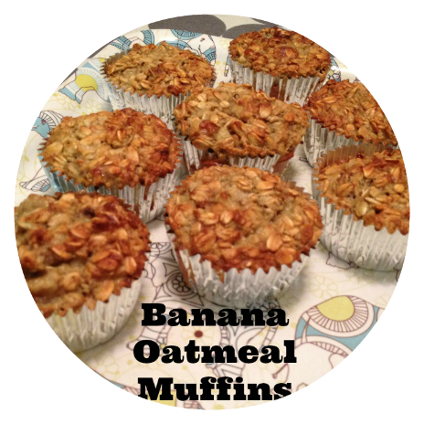 Fave Posts - Banana Oatmeal Muffins