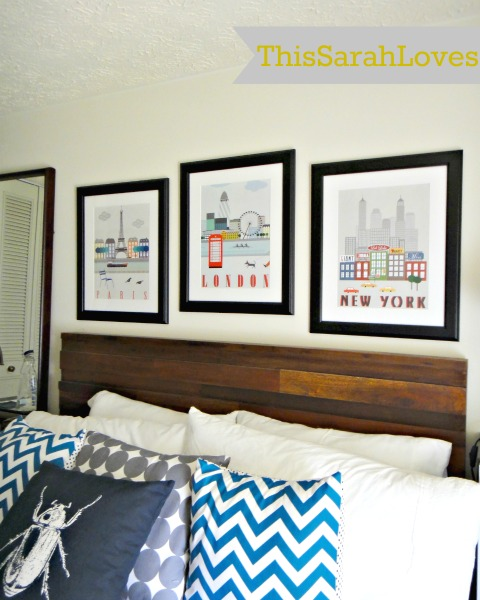 Guestroom - Ready for guests - Bed #thissarahloves