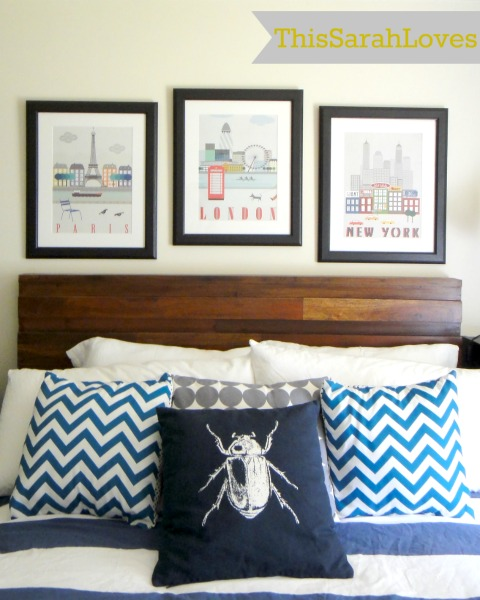 Travel Prints - Ready for guests #thissarahloves