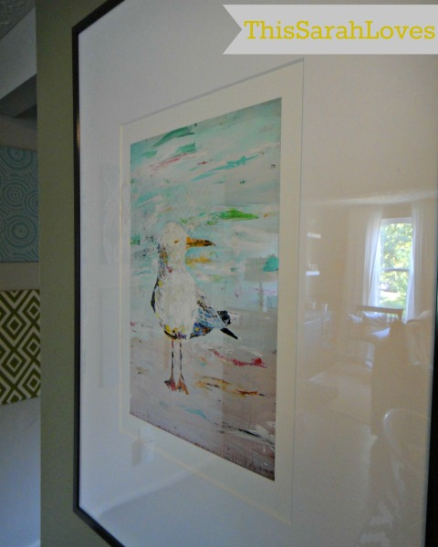 New Art on the Wall - Seagull Closeup