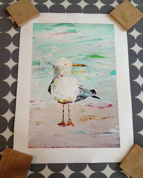 New Art - Seagull Print