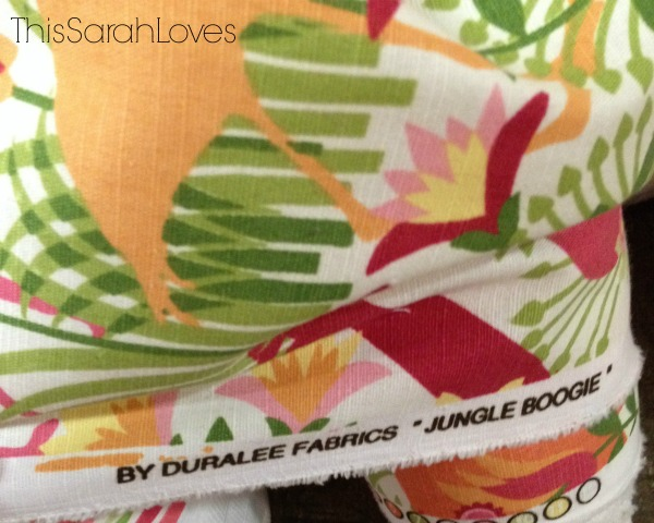 Bubblegum Fabric - Jungle Boogie - Name