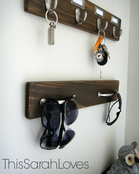 Entry Organization - DIY Hooks Bottom 2