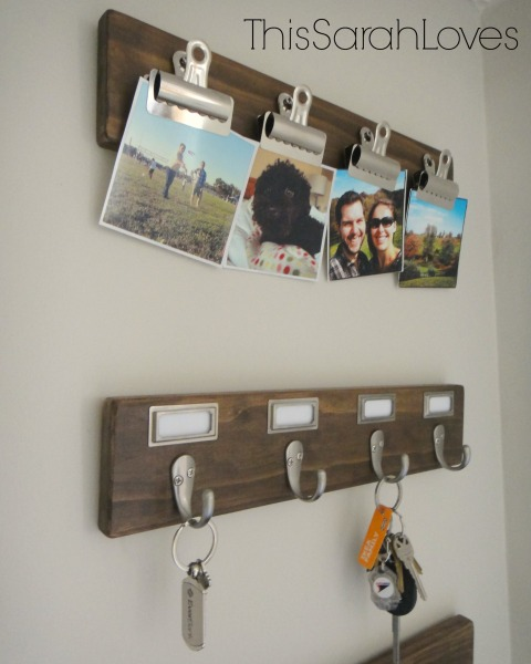 Entry Organization - DIY Hooks Top 2