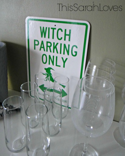 Halloween 2014 - Witch Parking Only