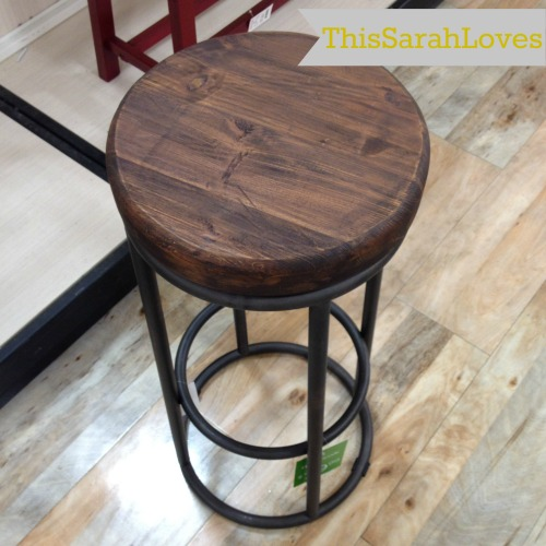 Wood and Iron Barstool   Shopaholic  HomeGoods Shop a long This Sarah Loves. Home Goods Bar Stools   Holiday Design